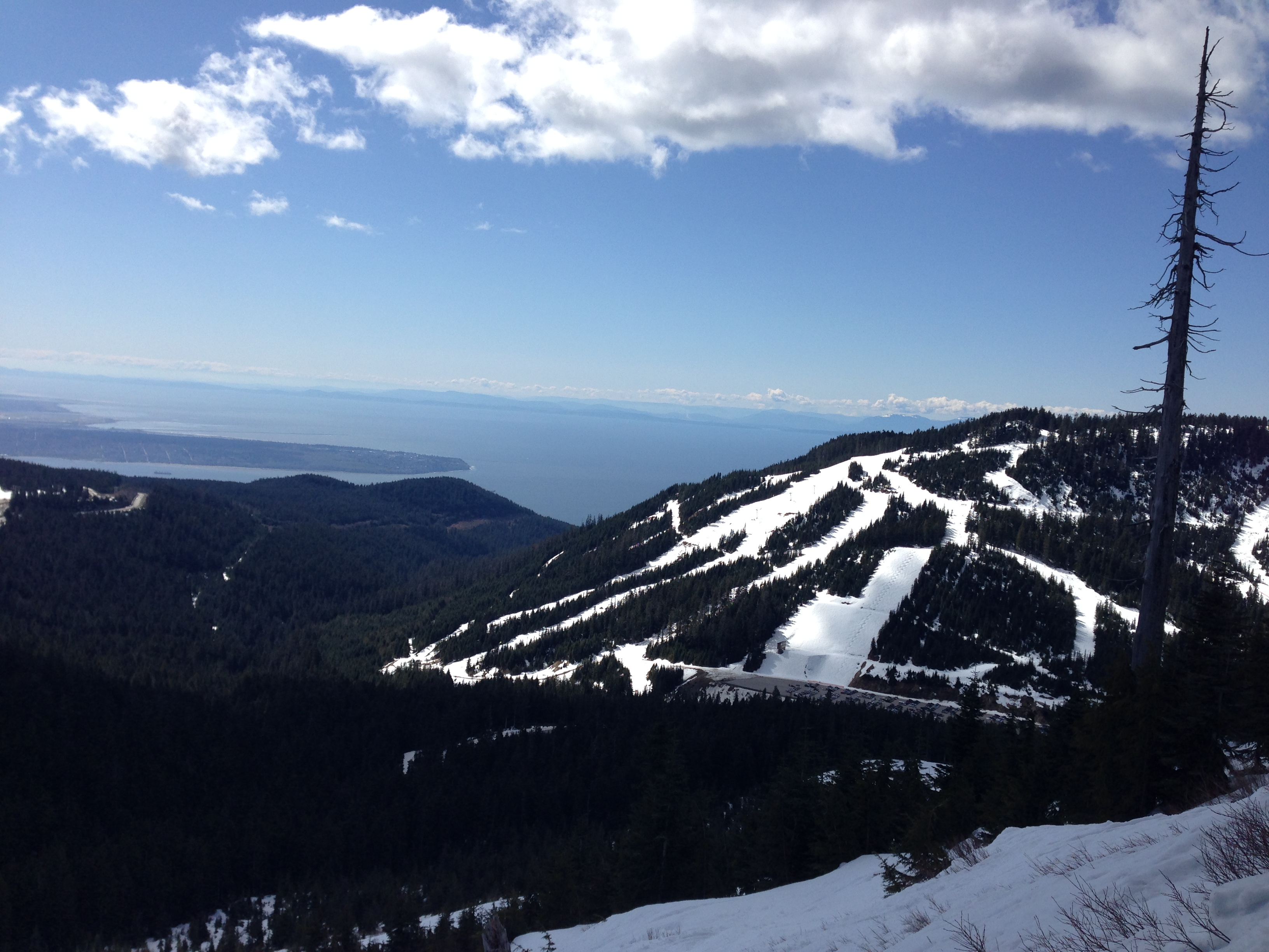 Cypress Mountain - April 12, 2014